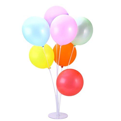 YeahiBaby Ballon Ständer Ballon Spalte Basis Ballon Bogen Kit Geburtstag Hochzeit Dekoration (zufällige Farbe)