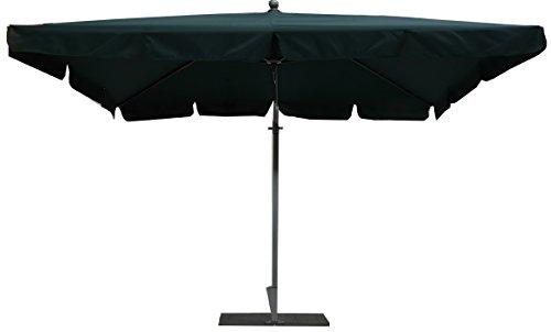 PEGANE Parasol rectangulaire déporté Coloris Vert - Dim : H 250 x D 300 X 200/4 cm