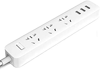 Xiao Mi Power Strip International Powerboard with USB Ports (3 Outlet 3 USB)