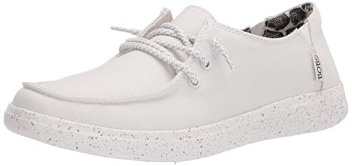Skechers womens 113448 Sneaker, White, 6.5 US