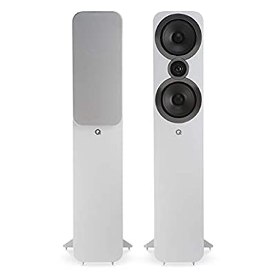Q Acoustics 3050i Floorstanding Speakers (Pair) (Arctic White) (Renewed) from Q Acoustics
