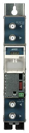 Amplificador monocanal programable de 2 Canales UHF AT422 de Terra