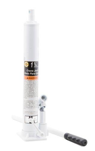 Omega 44915 Black Crane Jack - 1-1/2 Ton Capacity