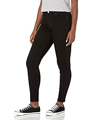 Levi's Women's 721 High Rise Skinny Jeans, Soft Black, 24 (US 00) S by Levi's Women's Sportswear