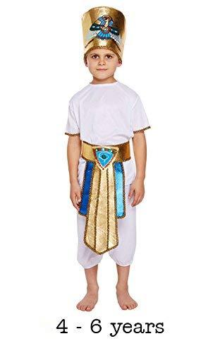 Déguisement Enfant Garçon égyptien Taille S 4–6ans