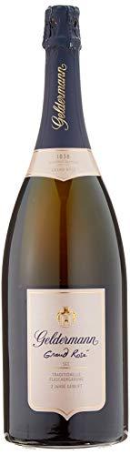 Geldermann Grand Rosé Sekt Magnum in Traditioneller Flaschengärung (1 X 1.5l)