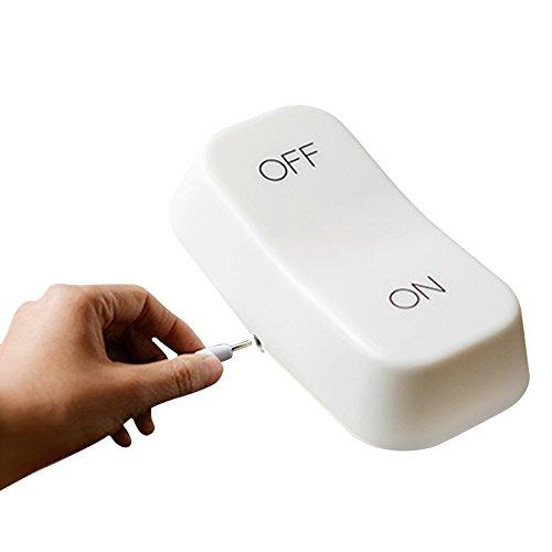 RubilityMuid on-off touch sensore di gravità interruttore della lampada LED di carica della luce di notte bianca