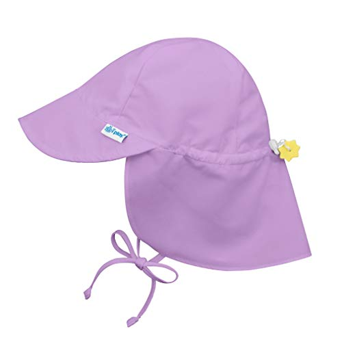 i play. by green sprouts Baby Girls' Sun Hat, Lavender, 0-6 Months
