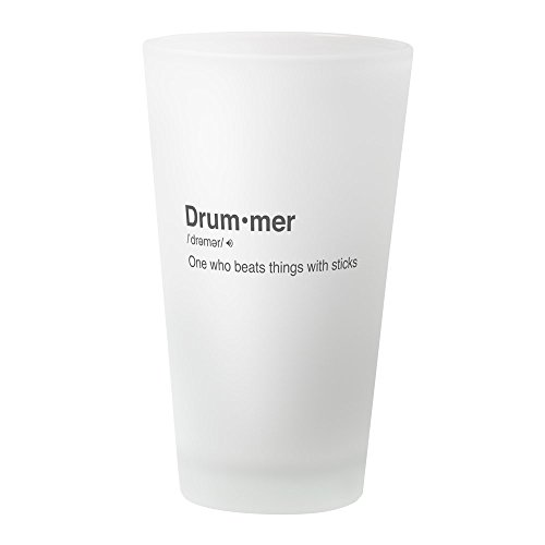 CafePress - Drummer Definition - Pint Glass, 16 oz. Drinking Glass