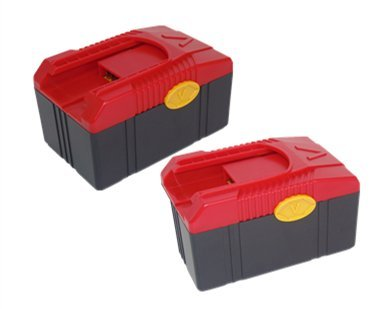 PowerWings 2 Pack 18V 4.0Ah CTB6187 Battery Pack Compatible with Snap on CTB6187 CTB6185 CTB4187 CTB4185 CTCFA620 CTCFE620 Lithium-Ion Replace for Snap on Charger CTC620