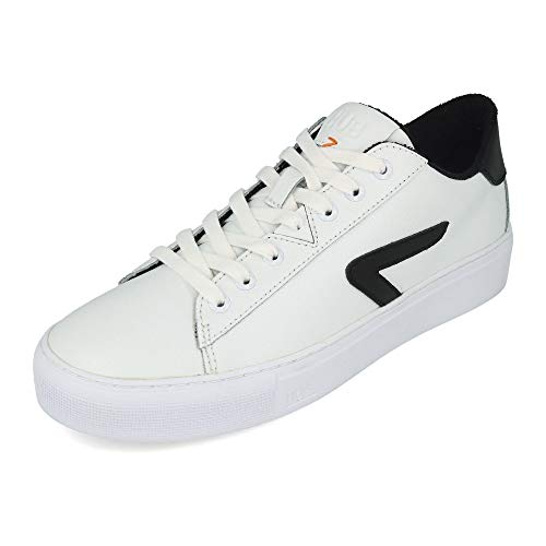 HUB FOOTWEAR - HOOK Z -STICH L31 - white black