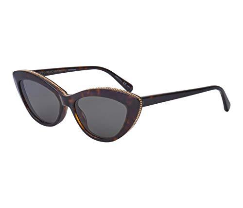 Stella McCartney occhiale da sole SC0187S 006 Havana verde taglia 54 mm Donna