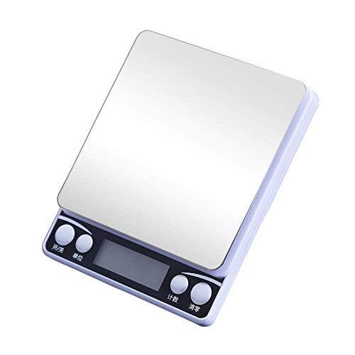 Keuken Thuis Multifunctionele Palm Digitale Weegschaal Hoge Precisie Mini Roestvrijstalen Schaal 0.01G Gram Schaal Goud Elektronische Weegschaal Bakken Keukenweegschaal-1000G/0.1G