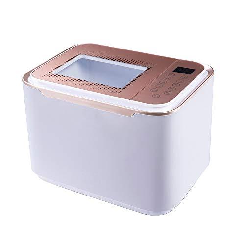 SSZZ Máquina de desinfección de Frutas y Verduras: Lavado ultrasónico, desintoxicante purificador de Alimentos con ozono, Limpieza Inteligente con oxígeno