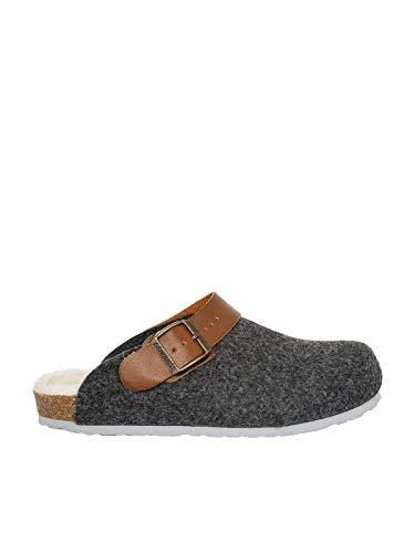 Genuins Pantoffel G102997 Shetland - Zapatillas de deporte gris 41