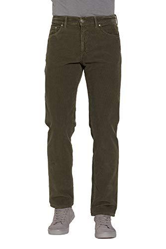 Carrera Jeans - Pantalon pour Homme, Couleur Unie, Velours FR 48