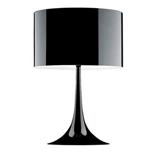 Bdbqbl pantallas Lampara de mesa de metal moderno loft de diseño nórdico...