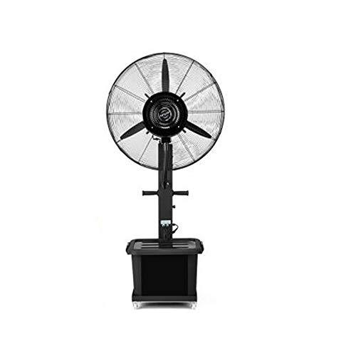 PIGE Le Ventilateur Industriel De Jet, Réservoir d'eau De 42L Ajoutent Le Commercial Extérieur De Ventilateur De Climatiseur De Plancher d'eau De Glace (Couleur : 260W 55cm(Fixed Type))