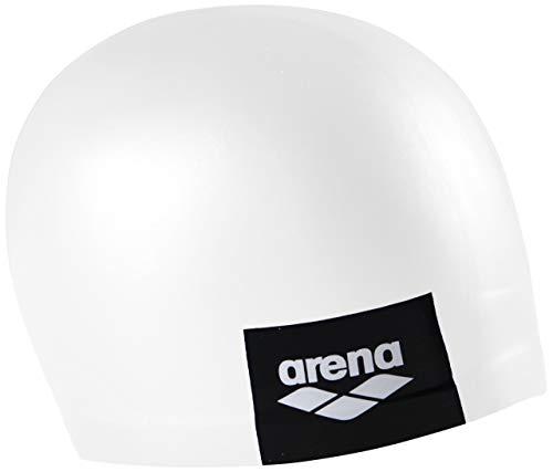 Arena Logo Moulded, Cuffia Unisex Adulto, Bianco (White), Taglia Unica