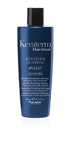 Fanola Hair ritual Keraterm Shampoo pH 5,2-5,7, Anti-Frizz disciplining shampoo, 300 ml