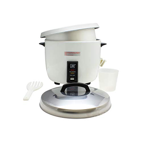Thunder Group SEJ50000 30-Cup (Uncooked) 60-Cup (Cooked) Rice Cooker/Warmer