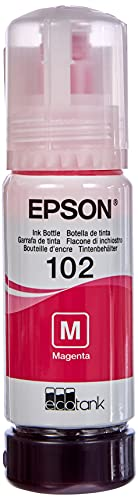 Epson 102 - Cartucho de Tinta para Impresoras ET-2700 ET-2750 ET-3700 ET-3750 ET-4750, Magenta