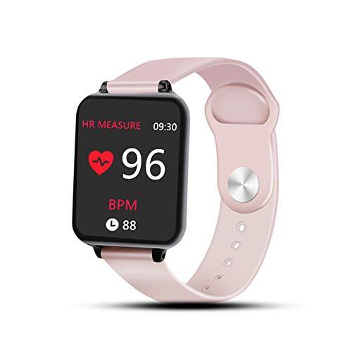KID Love Smart-horloges voor iPhone telefoon, waterdichte sport-smartwatch, hartslagmeter, bloeddruk, fitness tracker voor vrouwen en mannen.