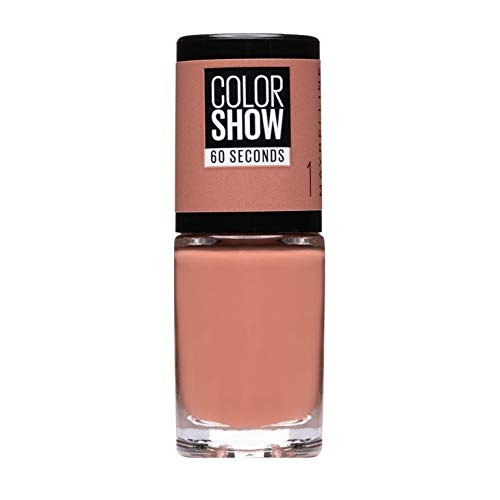 Maybelline New York - Color Show, Esmalte de Uñas Secado Rápido, Tono: 01 Go Bare