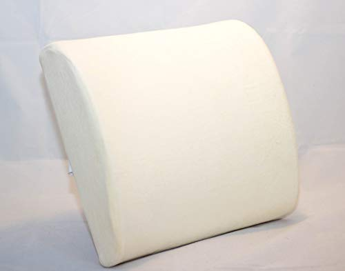 ADEPTNA Memory Foam Ergonomic Back Support Pillow Cushion - Posture Therapy Therapeutic Orthopaedic...