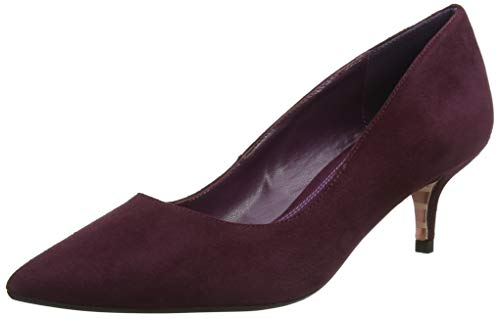 Dune Damen Alesandra Pumps, Red Berry, 38 EU