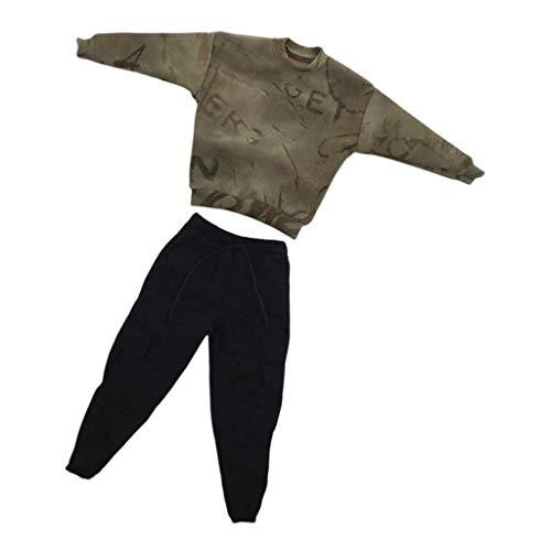perfeclan Pantalones de Vestir de Camuflaje Conjunto de Pantalones para Figura de Hombre de Acción de 12 '