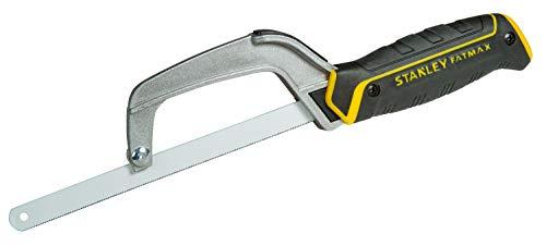 STANLEY 0-15-211 - Mini sierra, Negro/Amarillo/Plata, 254 mm