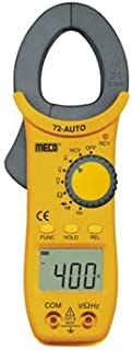 MECO 72 AUTO 3¾ Digit / 4000 Count 400 A AC Auto ranging Digital Clamp Meter