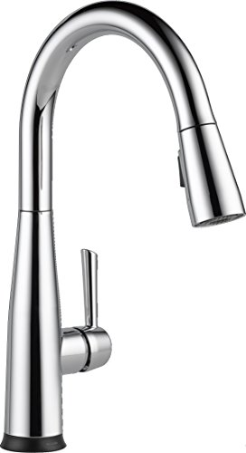 Delta Faucet Essa Single-Handle Touch Kitchen Sink Faucet with Pull Down Sprayer, Touch2O Technology and Magnetic Docking Spray Head, Chrome 9113T-DST