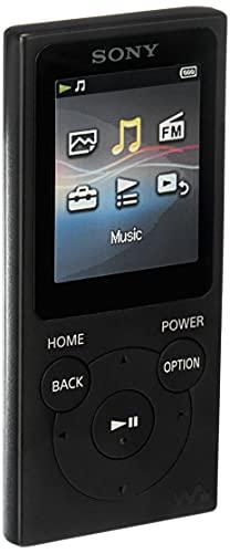 Sony NW-E394 Walkman 8GB (Speicherung von Fotos, UKW-Radio-Funktion) schwarz