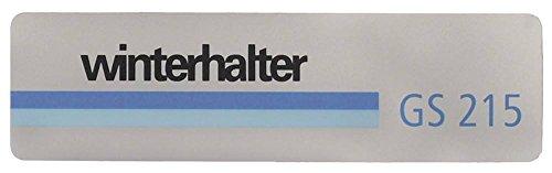 Winterhouder bord voor vaatwasser GS215 voor vaatwasser breedte 35 mm lengte 127 mm materiaaldikte 0,18 mm
