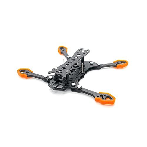 YXYX Accessori droni per FPV Racing RC Drone Quadcopter Ricambi Ricambi RC Accessori Fai da Te per HBFPV MX4 Pieghevole Kit Telaio A Lungo Raggio da 4 Pollici 166mm LR
