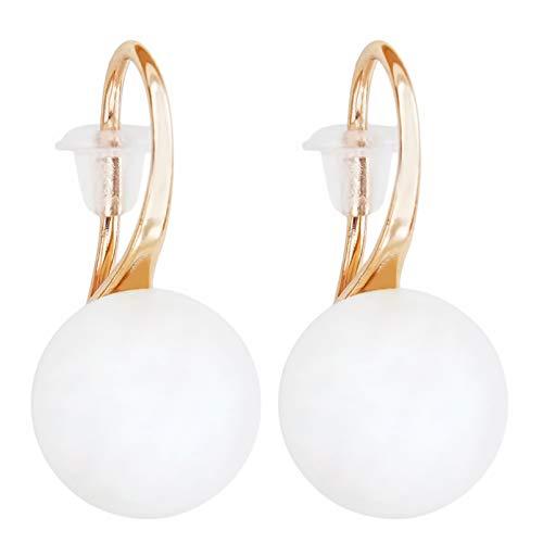CAIRLEE Pendientes de perlas de imitación vintage accesorios para mujeres niñas