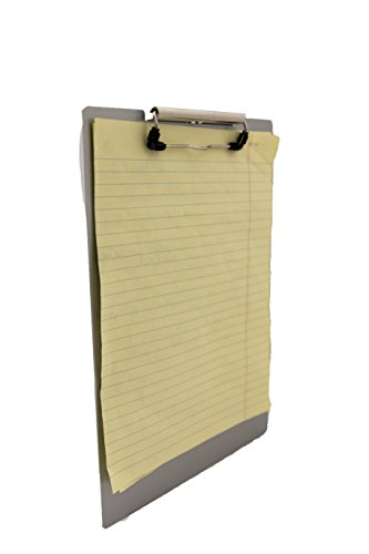 Saunders 21511 Recycled Aluminum Clipboard - Silver, Legal Size, 8.5 in. x 14 in. Document Holder with Low Profile Clip Photo #3