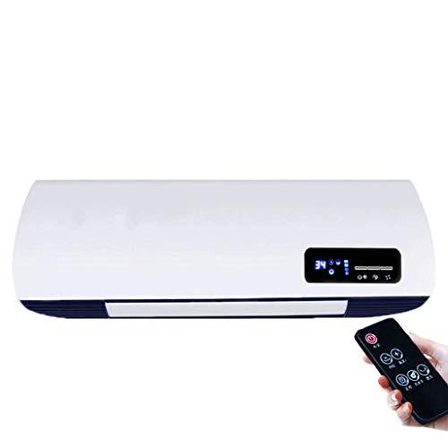 AJS Home-Heizung Wand-Heizung Badezimmer-Heizung Fernbedienung Wasserdicht Elektrische Heizung A+ (Farbe : A)