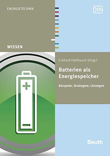 Batterien als Energiespeicher: Beispiele, Strategien, Lösungen (Beuth Wissen)