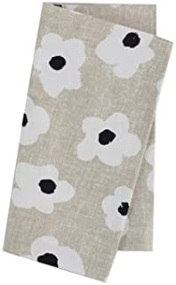 Kate Spade Dinner Napkins Faye Floral Neutral 100% Cotton Set of 4