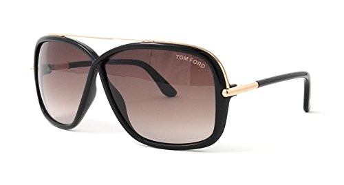 Gafas de sol Tom Ford FT0455 C62 01K (shiny black / gradient roviex)