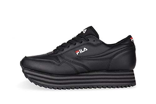 FILA ORBIT ZEPPA STRIPE WMN Sneakers dames Zwart Lage sneakers