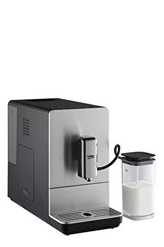 BEKO Automatische Espressomaschine CEG5331X mit integrierter Milchkanne