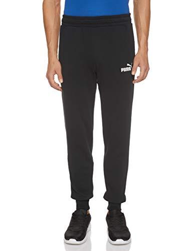 Puma Ess Logo Pants TR cl, Pantaloni Uomo, Black, XXL