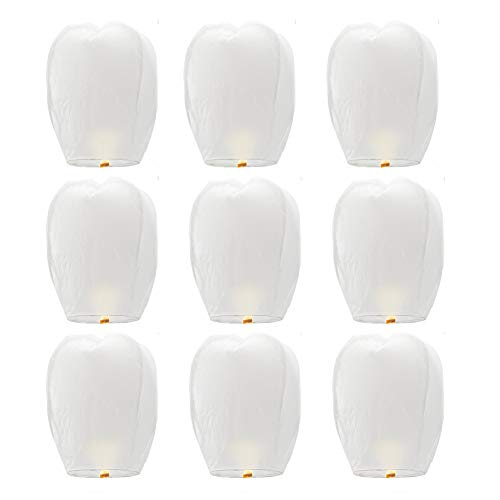 Linternas chinas Onewell Lámparas papel biodegradable