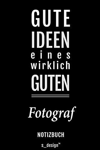 Notizbuch für Fotografen / Fotograf / Fotografin: Originelle Geschenk-Idee [120 Seiten liniertes blanko Papier]