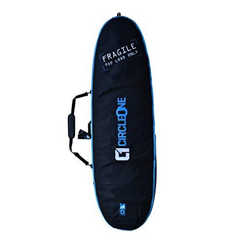 Circle One - Bolsa para Tabla de Surf Doble, Unisex Adulto, A49B66/B, Azul, 6ft6