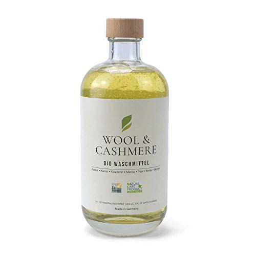 500 ml PASCUALI Bio Waschmittel Wool & Cashmere Konzentrat VEGAN bis zu ca. 50 WASCHGÄNGE Feinwaschmittel Intensivpflege für Kaschmir, Merino, Mohair, Wolle, Seide, Alpaka